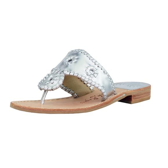 c7371ff77813 Jack Rogers Size 8 Hamptons Navajo Flat Sandals